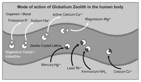 Mode of operation Zeolite